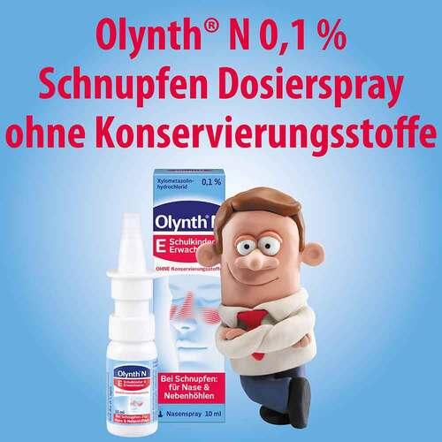Olynth 0,1% N Schnupfen Dosierspray ohne Konservierungsmittel - 2