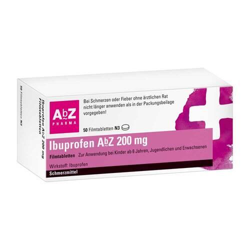 Ibuprofen AbZ 200 mg Filmtabletten - 1