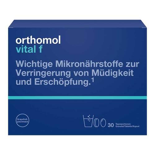 Orthomol Vital F Grapefruit Granulat / Kapseln - 1