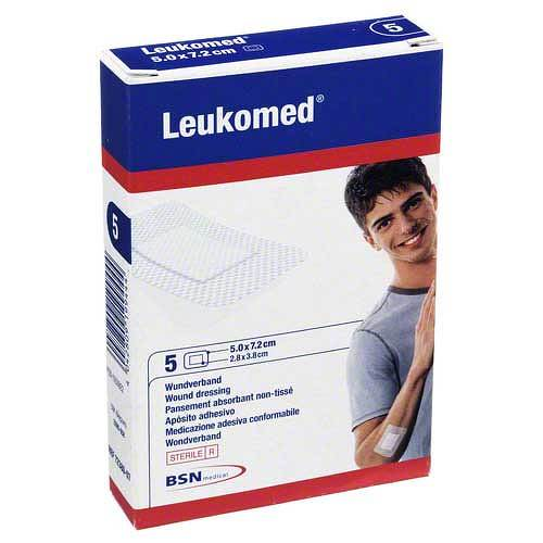 Leukomed sterile Pflaster 7, - 1