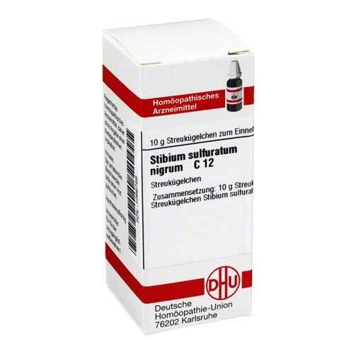 DHU Stibium sulfuratum nigrum C 12 Gl - 1