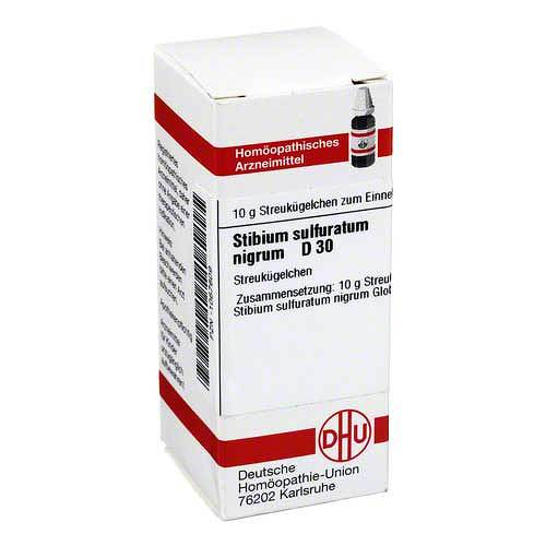 Stibium sulfuratum nigrum D 30 Gl - 1