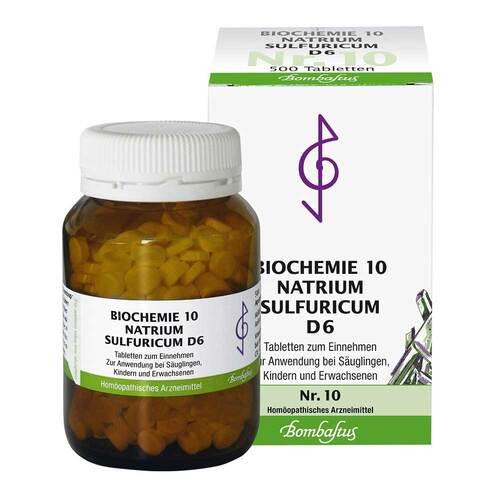 Biochemie 10 Natrium sulfuricum D 6 Tabletten - 1