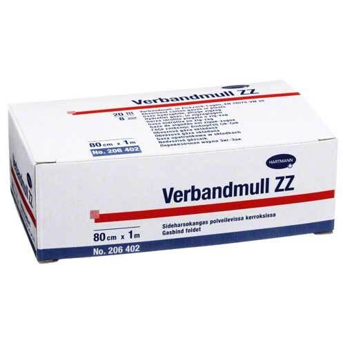 Verbandmull Hartmann 10 cm x 1 m zickzack - 1