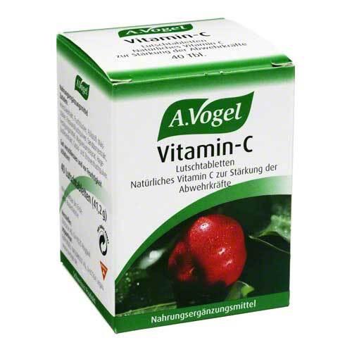 Vitamin C A. Vogel Lutschtabletten - 1