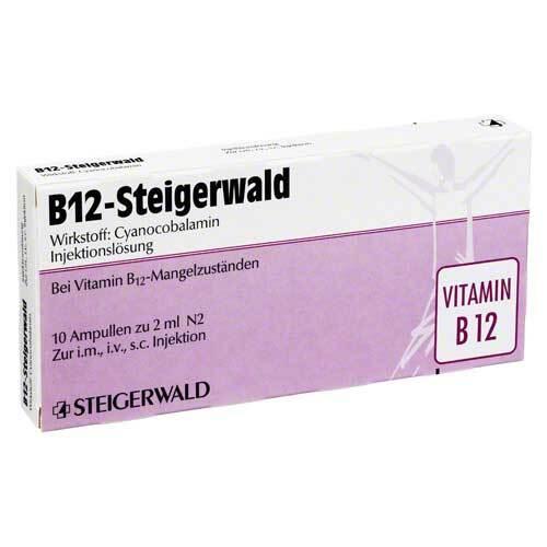 B12 Steigerwald Injektionslösung - 1