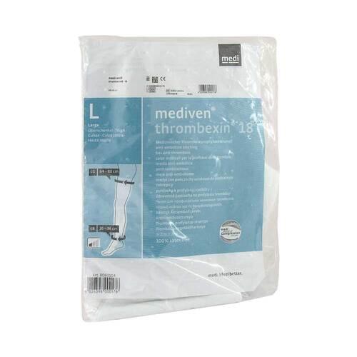 Mediven Thrombexin 18 Oberschenkelstrümpfe Größe L mit Haftband - 1