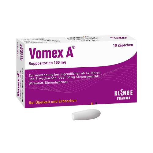 Vomex A 150 mg Suppositorien - 1