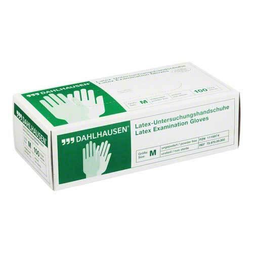 Handschuhe Latex ungepudert Größe M - 1