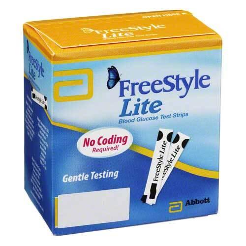 Freestyle Lite Teststreifen ohne Codieren - 1