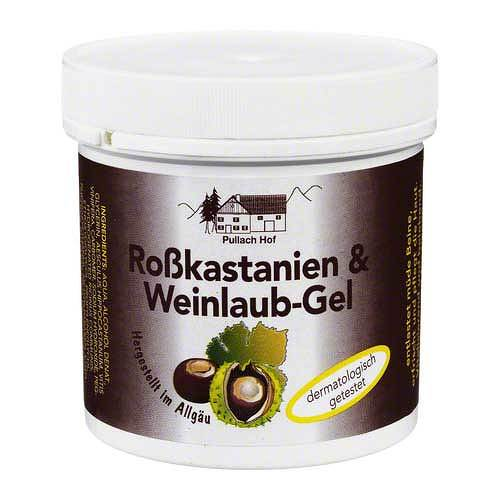 Rosskastanien + Weinlaub Gel - 1