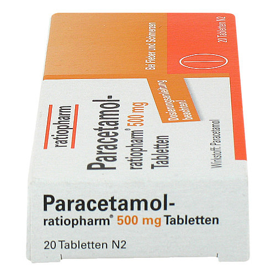 Paracetamol ratiopharm 500 mg Tabletten - 4