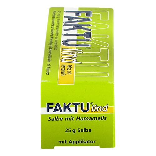 Faktu lind Salbe mit Hamamelis - 4