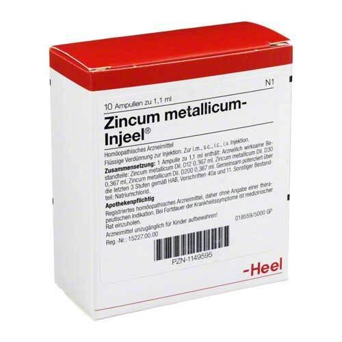 Zincum metallicum Injeel Ampullen - 1