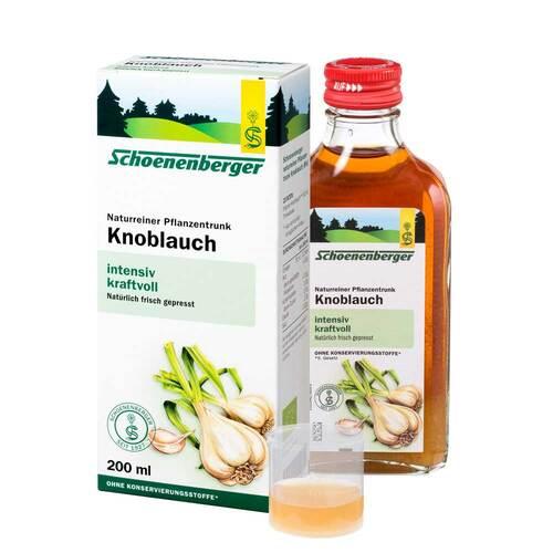 Knoblauch Naturreiner Pflanzentrunk Schoenenberger - 1