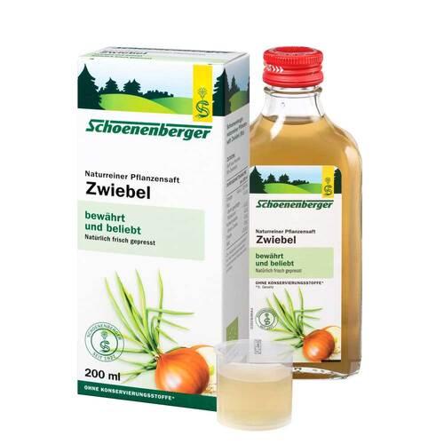 Zwiebelsaft naturrein Schoenenberger - 1