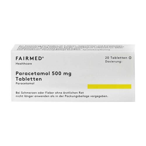 Paracetamol 500 Fair Med Tabletten - 1