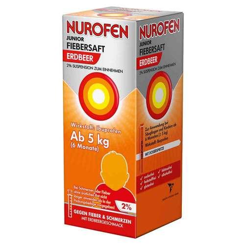 Nurofen Junior Fiebersaft Erdbeer 2% - 2