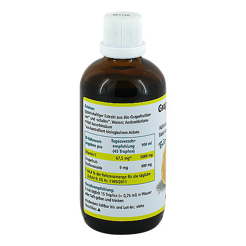 Grapefruit Kern Extrakt Bio Lösung - 2
