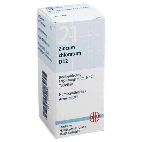 Biochemie DHU 21 Zincum chloratum D 12 Tabletten - 1