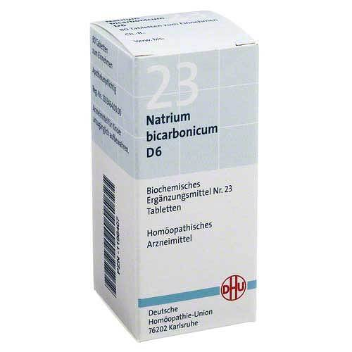 Biochemie DHU 23 Natrium bicarbonicum D 6 Tabletten - 1