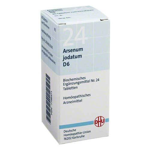 Biochemie DHU 24 Arsenum jodatum D 6 Tabletten - 1