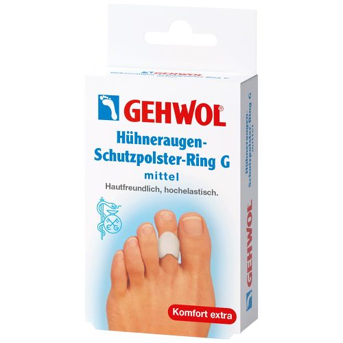 Gehwol Hühneraugen-Schutzpolster-Ring G mittel - 1