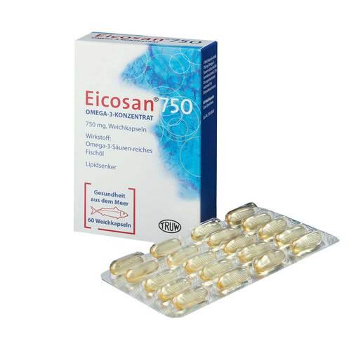 Eicosan 750 Omega 3 Konzentrat - 1