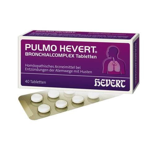 Pulmo Hevert Bronchialcomplex Tabletten - 1