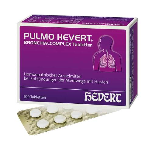 Pulmo Hevert Bronchialcomplex Tabletten - 1