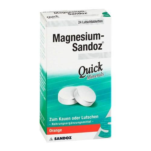 Magnesium Sandoz Quick Minerals Lutschtabletten - 1