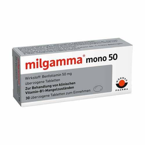 Milgamma mono 50 überzogene Tabletten - 1