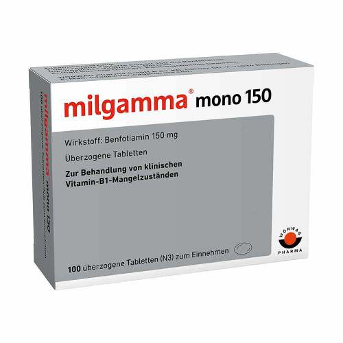 Milgamma mono 150 überzogene Tabletten - 1