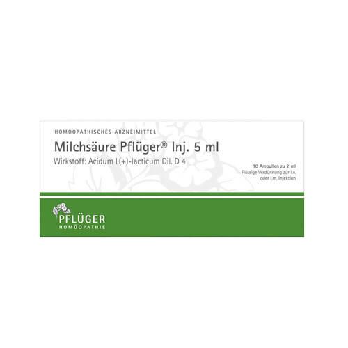 Milchsäure Pflüger Injektionslösung 5 ml - 1