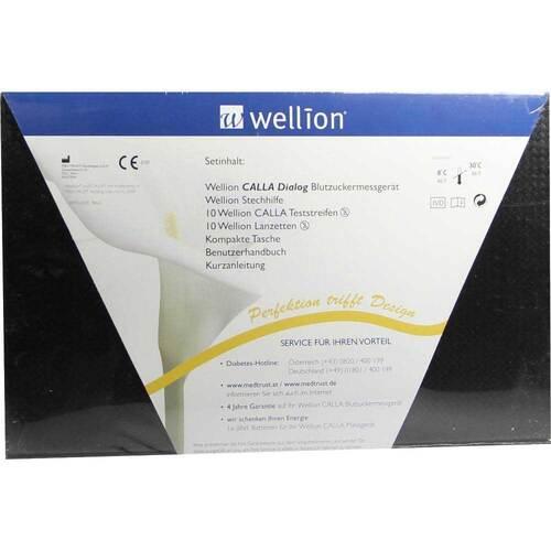 Wellion Calla dialog.Blutzuckermessge.Set mg / dl - 1