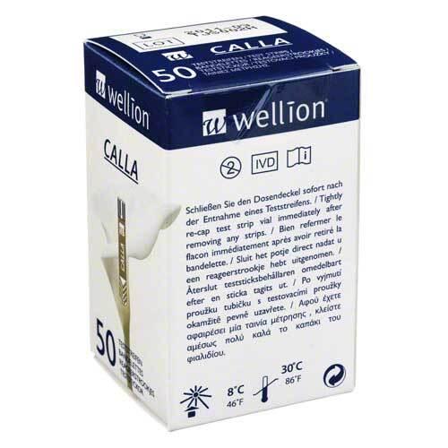 Wellion Calla Blutzuckerteststreifen - 1
