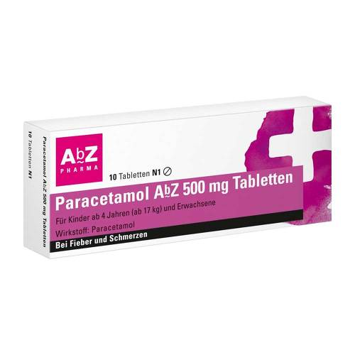 Paracetamol AbZ 500 mg Tabletten - 1