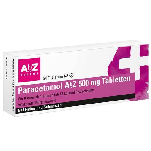 Paracetamol AbZ 500 mg Tabletten - 1