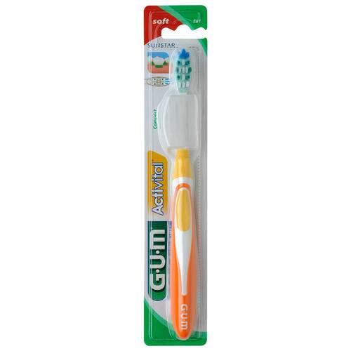 GUM Activital Zahnbürste kompakt soft - 1