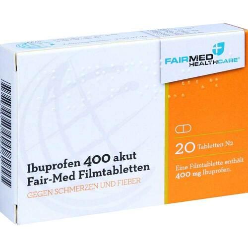 Ibuprofen 400 akut Fair-Med Filmtabletten - 1
