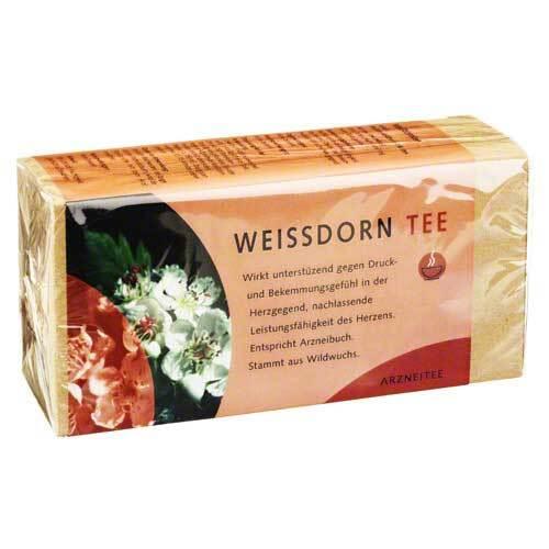 Weissdorn Tee Filterbeutel - 1
