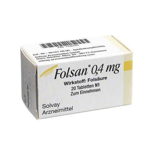Folsan 0,4 mg Tabletten - 1
