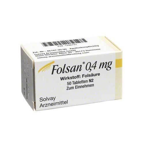 Folsan 0,4 mg Tabletten - 1