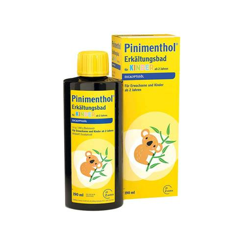 Pinimenthol Erkältungsbad für Kinder ab 2 Jahren - 1