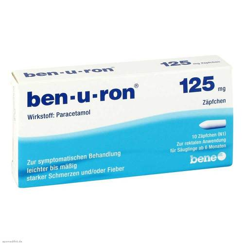 Ben-U-Ron 125 mg Suppositorien - 1