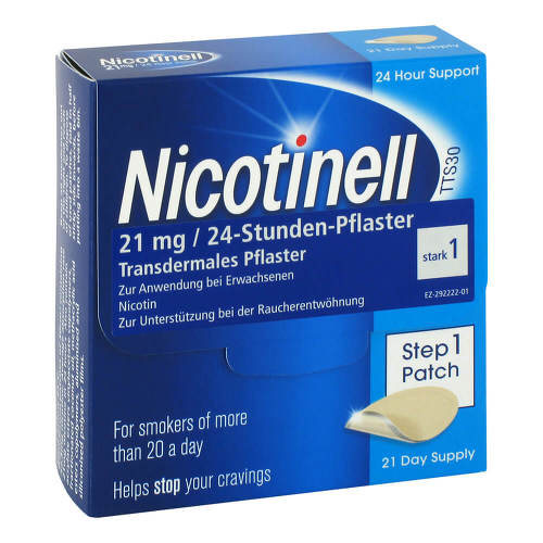 Nicotinell 21 mg 24-Stunden-Pflaster - 1