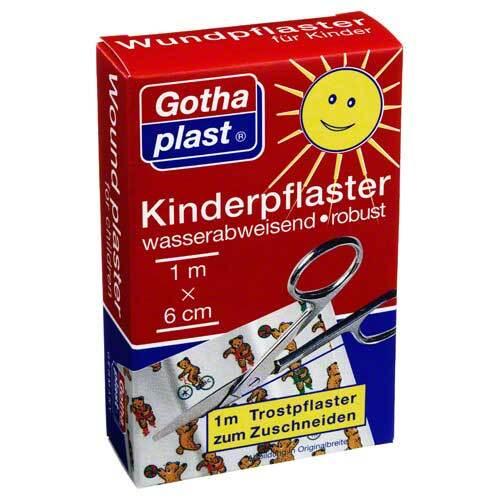Gothaplast Kinderpflaster 6 cm x 1 m - 1