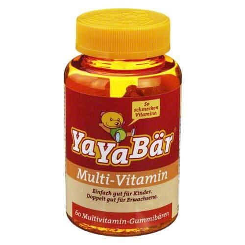 Yayabaer Kinder Vitamin Fruchtgummis - 1