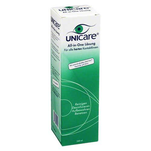 Unicare All in One für harte Linsen Lösung - 1
