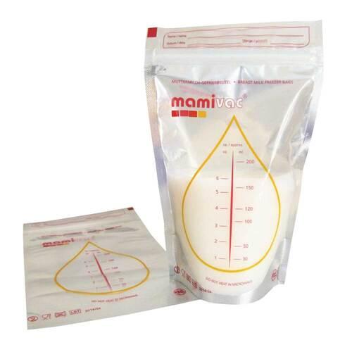 Mamivac Gefrierbeutel für Muttermilch - 1